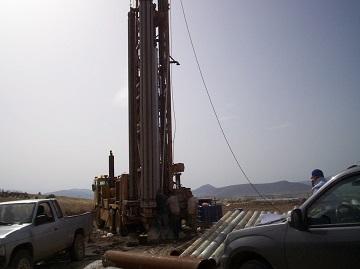 έργα γεωτρήσεων